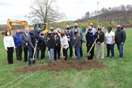 Dow-CCHS Groundbreaking for Greenhouse