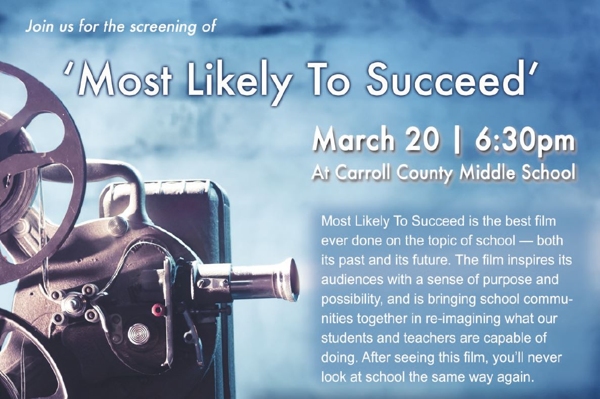 "Film screening - ""Most Likely to Succeed"""
